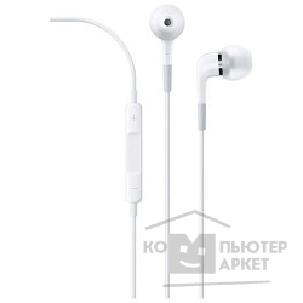 Аксессуар Apple ME186ZM/ B  In-ear Headphones with Remote and Mic