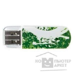 носитель информации Verbatim USB Drive 8Gb Mini Graffiti Edition Green 098163
