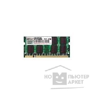 Модуль памяти Transcend DDR2-800 PC2-6400 1GB SO-DIMM [TS128MSQ64V8J]