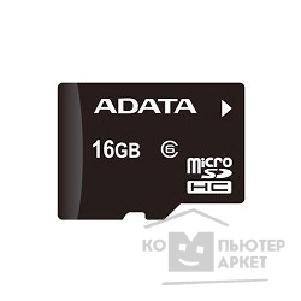 Карта памяти  A-data Micro SecureDigital 16Gb  Class 6 AUSDH16GCL6-R
