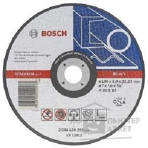 Bosch 2608600382 ОТРЕЗНОЙ КРУГ МЕТАЛЛ 150Х2.5 ММ/Bosсh 2608600382 2608600382