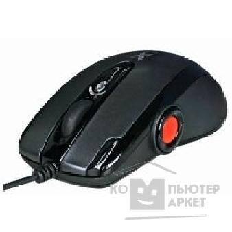 Мышь A-4Tech A4Tech X-755FS black/ iron grey USB, 9кн, 2000DPI