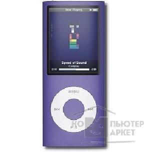 Плеер Apple Ipod MB909 iPod nano chromatic 16 Gb MP3 плеер purple