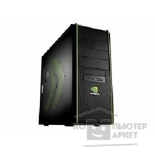 Корпус Cooler Master MidiTower  Elite 334 nVidia Edition [NV-334-KWN1-GP] Black/ Black noPSU
