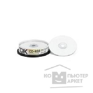 ���� Tdk CD-R  ����� 10��.  700MB 52x, Printable, Cake Box [CD-R80PWWCBA10]