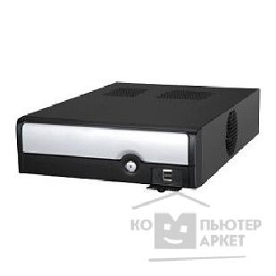 Корпус Inwin Desktop  BT-553 Black 300W 12V FAN USB Flex/ mATX [1178100]