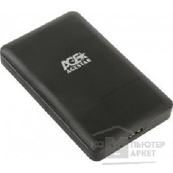AgeStar 3UBCP3 (BLACK) USB 3.0 Внешний корпус 2.5