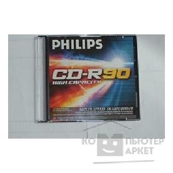 Диск Philips CD-R диск  800Mb 90 мин., Jevel case