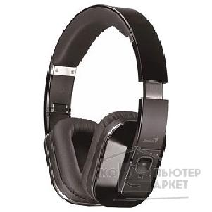 Genius Наушники с микрофоном  HS-970BT Black, Bluetooth 4.0 stereo headset, foldable, NFC, APTX, Aux-in