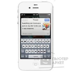 APPLE гаджет Apple iPhone 4S 64Gb White MD261RR/ A