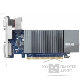 Asus PCI-E nVidia GeForce GT710 (2Gb/64bit/DDR5 954/5012/VGA/DVI/HDMI/Ret) (GT710-SL-2GD5)/ASUS GT710-SL-2GD5 90YV0AL1-M0NA00
