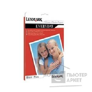 Бумага Lexmark 80D1706 Бумага  Everyday Photopaper Glossy A4, 210x297мм, 170г/ м2 20 листов