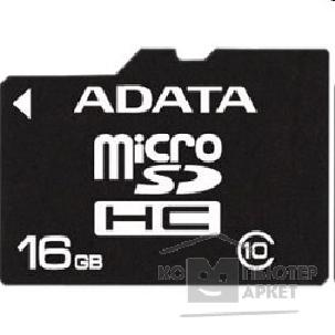 Карта памяти  A-data Micro SecureDigital 16Gb  AUSDH16GCL10-RA1