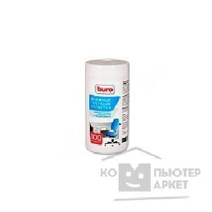Туба с чистящими салфетками BURO BU-TSURL, для поверхностей и офисной мебели, 100 шт. [817442] /Buro BU-Tsurl 817442
