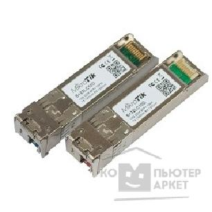 Сетевое оборудование Mikrotik S+2332LC10D Pair of bidirectional SFP 10G 10km modules 10G T1270nm/ R1330nm + 10G T1330nm/ R1270nm