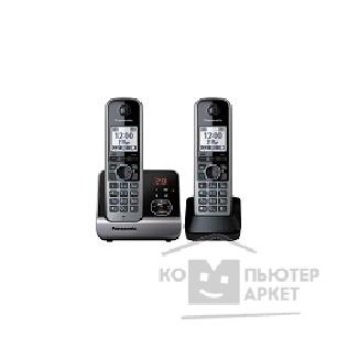 Телефон Panasonic KX-TG6722RUB, черный