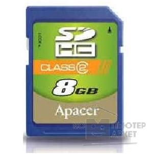 Карта памяти  Apacer SecureDigital 8Gb , SDHC Class 2