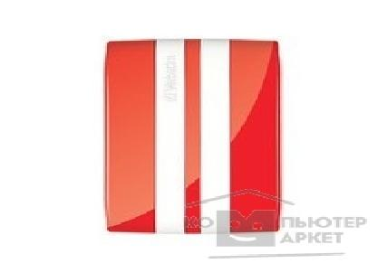 носители информации Verbatim HDD 500Gb  USB2.0 Portable HDD [53030] GT Red&White