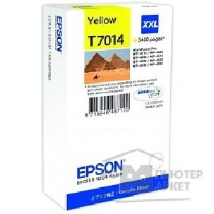 Расходные материалы Epson C13T70144010 WP 4000/ 4500 Series Ink XXL Cartridge Yellow 3.4k