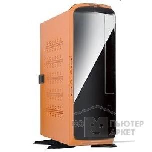 Корпус Inwin SlimCase  BQ-660OR Orange 80W ext. USB/ AU Mini-ITX [6042419] внешний модуль