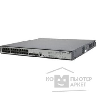 Сетевое оборудование Hp JE007A  V1910-24G-PoE Switch Managed, 24*10/ 100/ 1000 + 4 SFP, static routing, PoE 365W 19'