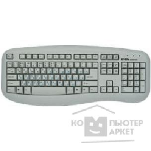 Клавиатура Sven Keyboard  636 Standard silver PS/ 2