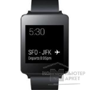 Умные часы Lg Smart Watch W100 [W100.ACISKT] black Android Wear 1.0/ 512Mb/ 1.65""