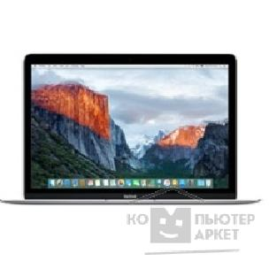 "Ноутбук Apple MacBook [MLHA2RU/ A] Silver 12"" Retina"