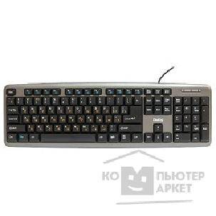 Клавиатура Dialog KM-025U Gray Multimedia Black - USB