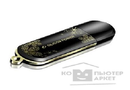 Носитель информации Silicon Power USB 2.0  USB Drive 4Gb, Luxmini 323 [SP004GBUF2323V1K], Black