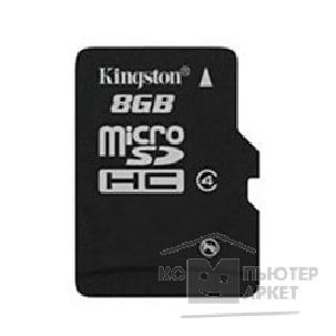 Карта памяти  Kingston Micro SecureDigital 8Gb  SDC4/ 8GBSP