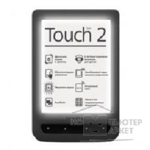 "PocketBook Электронная книга  626 6"" E-Ink HD Pearl frontlight 1024x758 touch 1.0Ghz 256Mb/ 4Gb черный [PB626-E-RU]"