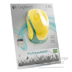 Мышь Logitech 910-004026  Mouse M235 Wireless BRAZIL