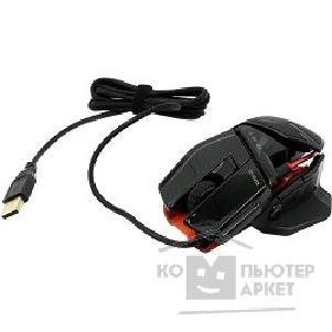 Mad Catz Мышь  R.A.T.TE Gaming Mouse - Gloss Black проводная лазерная MCB4371400C2/ 04/ 1 [PCA270]