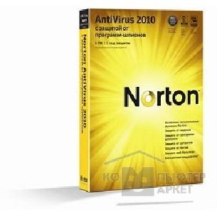 Программное обеспечение Symantec 20103070 NORTON ANTIVIRUS 2010 RU 1 USER RET