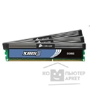 Модуль памяти Corsair  DDR-III 6GB PC3-10666 1333MHz Kit 3 x 2GB  [CMX6GX3M3A1333C9]