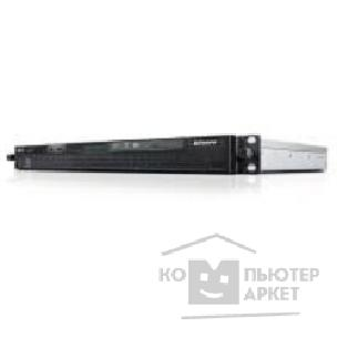 Сервер Lenovo ThinkServer RS140 E3-1226v3 3.3Ghz 4C, 8GB 2x4GB ECC 1600Mhz UDIMM, 2 x 600GB SAS 10k rpm Cabled 2.5 HDD up to 4x2.5 , RAID500 SAS/ SATA 0,1,10 , DVD+/ -RW, i210 DP 1GbE, Intel AMT