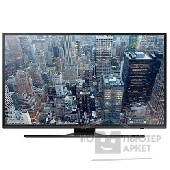 "Телевизор Samsung 60"" UE60JU6400UXRU черный/ Ultra HD/ 200Hz/ DVB-T2/ DVB-C/ DVB-S2/ USB/ WiFi/ Smart TV RUS"