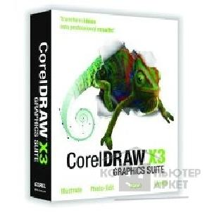 ���������������� ����� �� ������������� �� Corel LCCGSX3RUSPCA DRAW Graphics Suite X3 License RUS 1 - 99