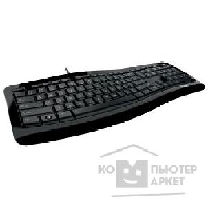 Клавиатура Microsoft Wired Comfort Curve Desktop 3000 Black  For Bsnss 7ZJ-00023