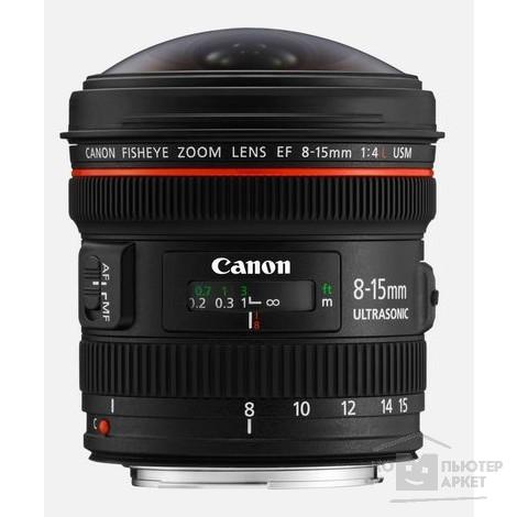 Объектив EF 8-15mm f/4L Fish-eye USM/Canon 4427B005 4427B005