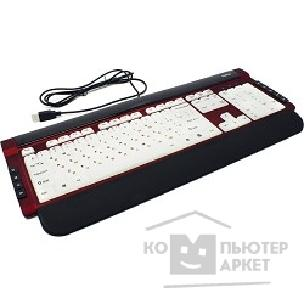 Клавиатура Dialog Katan KK-L06U RED USB, Multimedia, с подсветкой клавиш