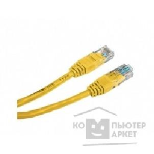 Патч-корд Hyperline PC-LPM-UTP-RJ45-RJ45-C6-0.3M-YL Патч-корд UTP, Cat.6, 0.3 м, желтый