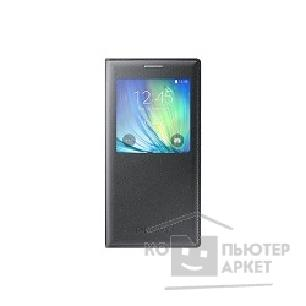 Samsung Чехол для  Galaxy A7 S-View black SAM-EF-CA700BCEGRU