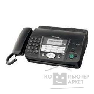 Факс Panasonic KX-FT912RU-B черный