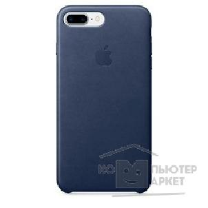 Аксессуар Apple MMYG2ZM/ A  iPhone 7 Plus Leather Case - Midnight Blue