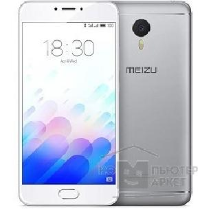 Смартфон MEIZU M3 Note Silver/ White 16GB