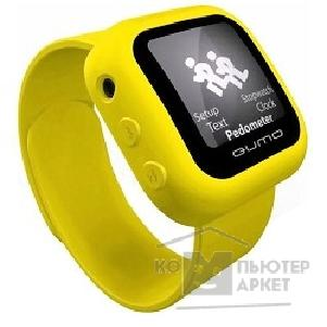 Плеер Qumo MP3 плеер 4GB  SportsWatch yellow