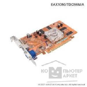 Видеокарта Asus TeK EAX1050/ TD 256Mb DDR, ATI RADEON X1050 DVI, TV-out PCI-E