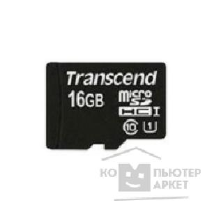 Карта памяти  Transcend Micro SecureDigital 16Gb  TS16GUSDCU1